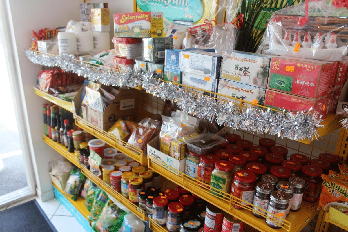 Produits aliments Asiatiques cuisine restaurant